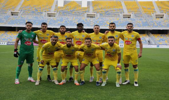 المغرب الرياضي  - الأزمة المالية تبعد لاعبي اتحاد طنجة عن التداريب