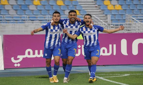 المغرب الرياضي  - اتحاد طنجة يظفر بـ