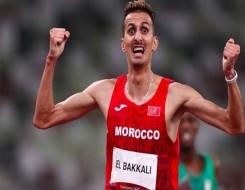 المغرب الرياضي  - ذهبية البقالي ترفع معنويات الصديقي والساعي