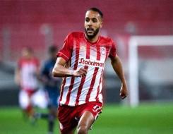 المغرب الرياضي  - أولمبياكوس اليوناني يتجه لتجديد عقد مهاجمه المغربي يوسف العربي
