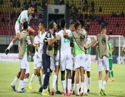 المغرب الرياضي  - الرجاء يفوز على نادي المولودية في مدينة وجدة