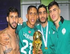 المغرب الرياضي  - الرجاء الرياضي يعلن عن استرجاع اللاعب العرجون في لقاء مولودية وجدة